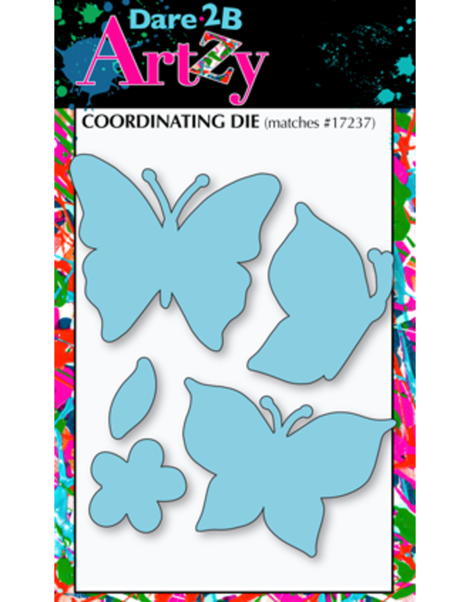 Dare 2B Artzy Joyful Butterfly (Butterfly Inspiration) - Clear Stamp Set