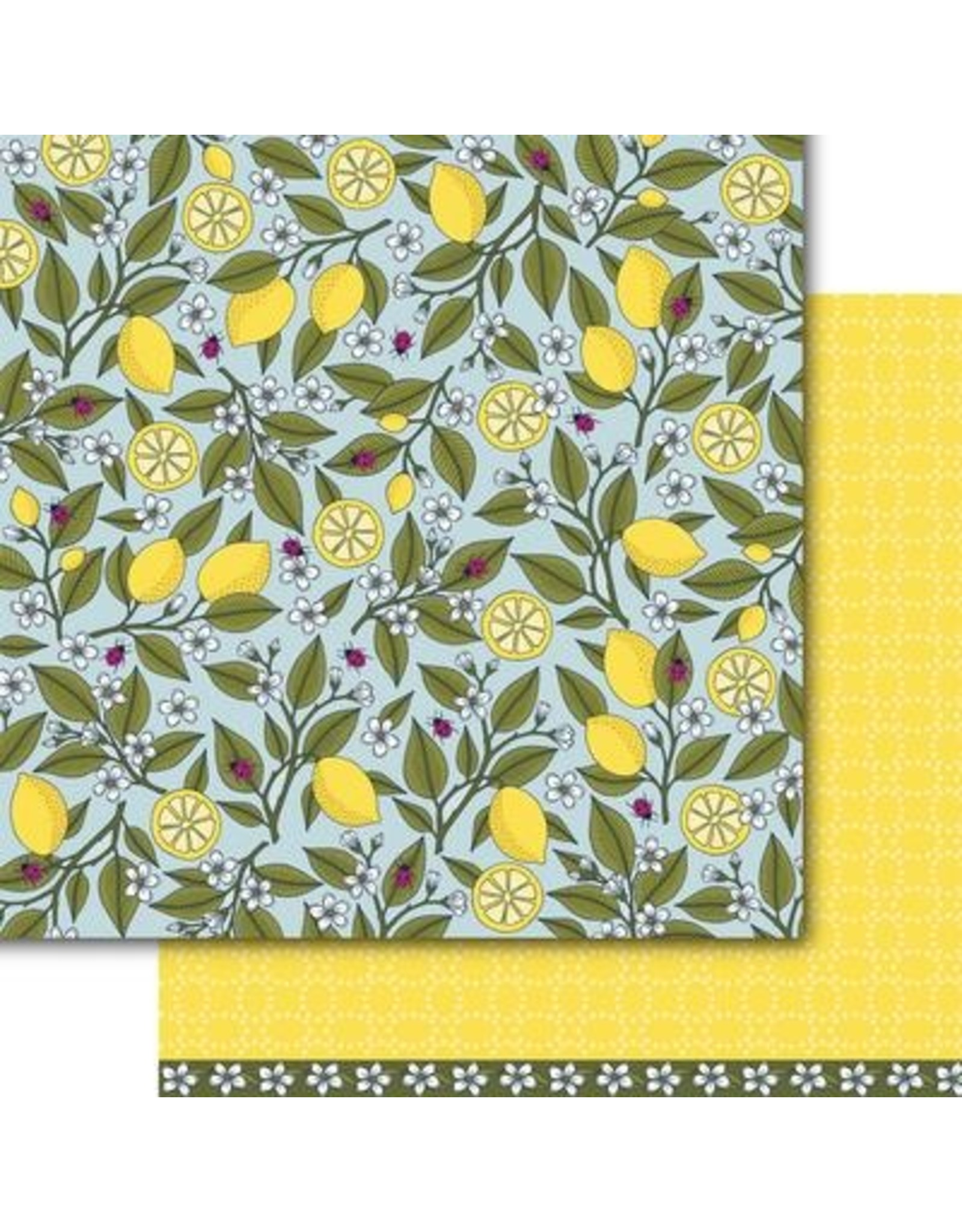 Dare 2B Artzy Lemon Zest - Clear Stamp Set