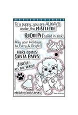 Dare 2B Artzy Puppy Kisses - Clear Stamp Set
