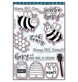 Dare 2B Artzy Buzzy Beez - Clear Stamp Set