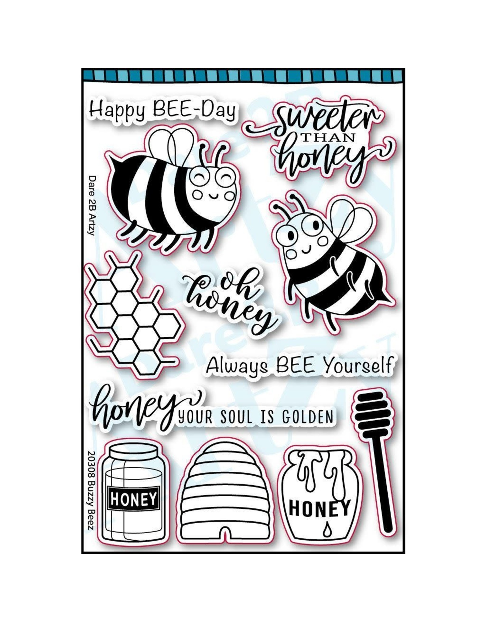 Dare 2B Artzy All the Buzz Collection - Honey Bear 12x12
