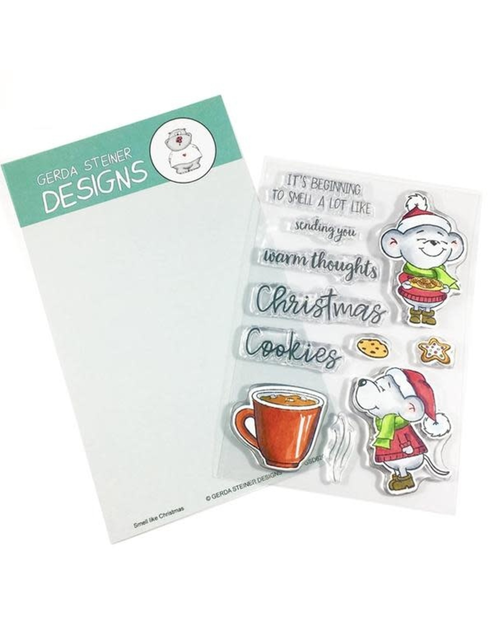 Gerda Steiner Designs Smell Like Christmas Clear Stamp Set