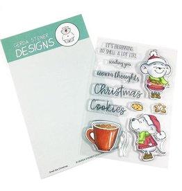 Gerda Steiner Designs Smell Like Christmas Clear Stamp Set
