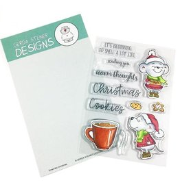 Gerda Steiner Designs Smells Like Christmas Clear Stamp Set
