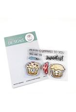 Gerda Steiner Designs Muffin Compares to You Clear Stamp Set