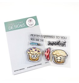Gerda Steiner Designs Muffin Compares to You Clear Stamp Set