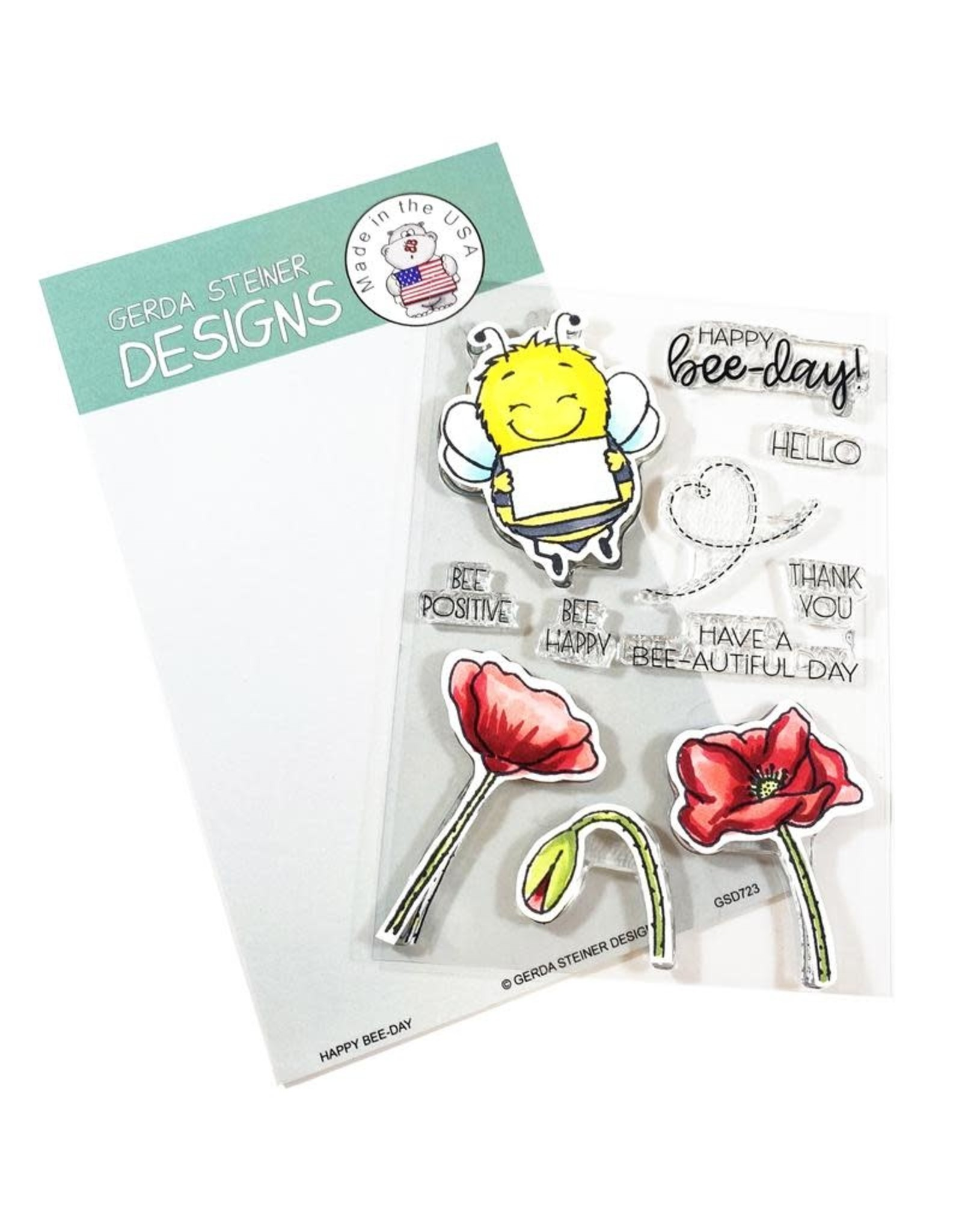 Gerda Steiner Designs Happy Bee-Day Die Set