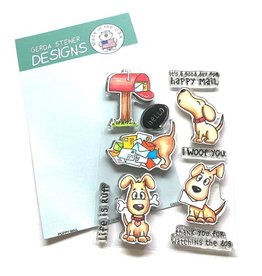 Gerda Steiner Designs Puppy Mail Clear Stamp Set