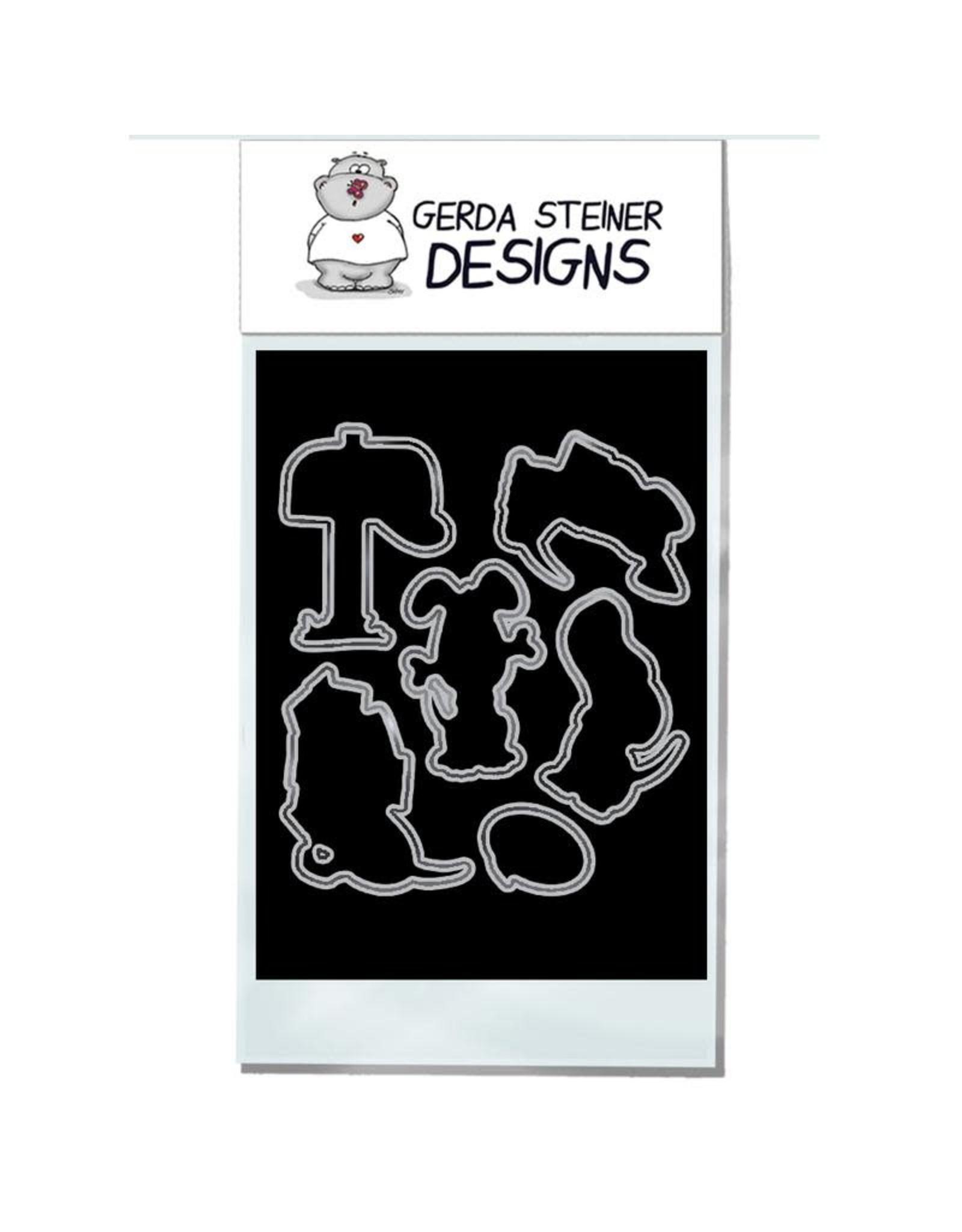 Gerda Steiner Designs Puppy Mail Clear Stamp Set