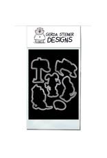 Gerda Steiner Designs Puppy Mail Die Set