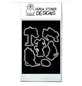 Gerda Steiner Designs Puppy Mail Die Set