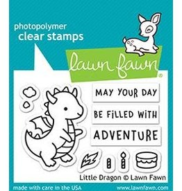 Lawn Fawn Little Dragon Clear Stamp Set