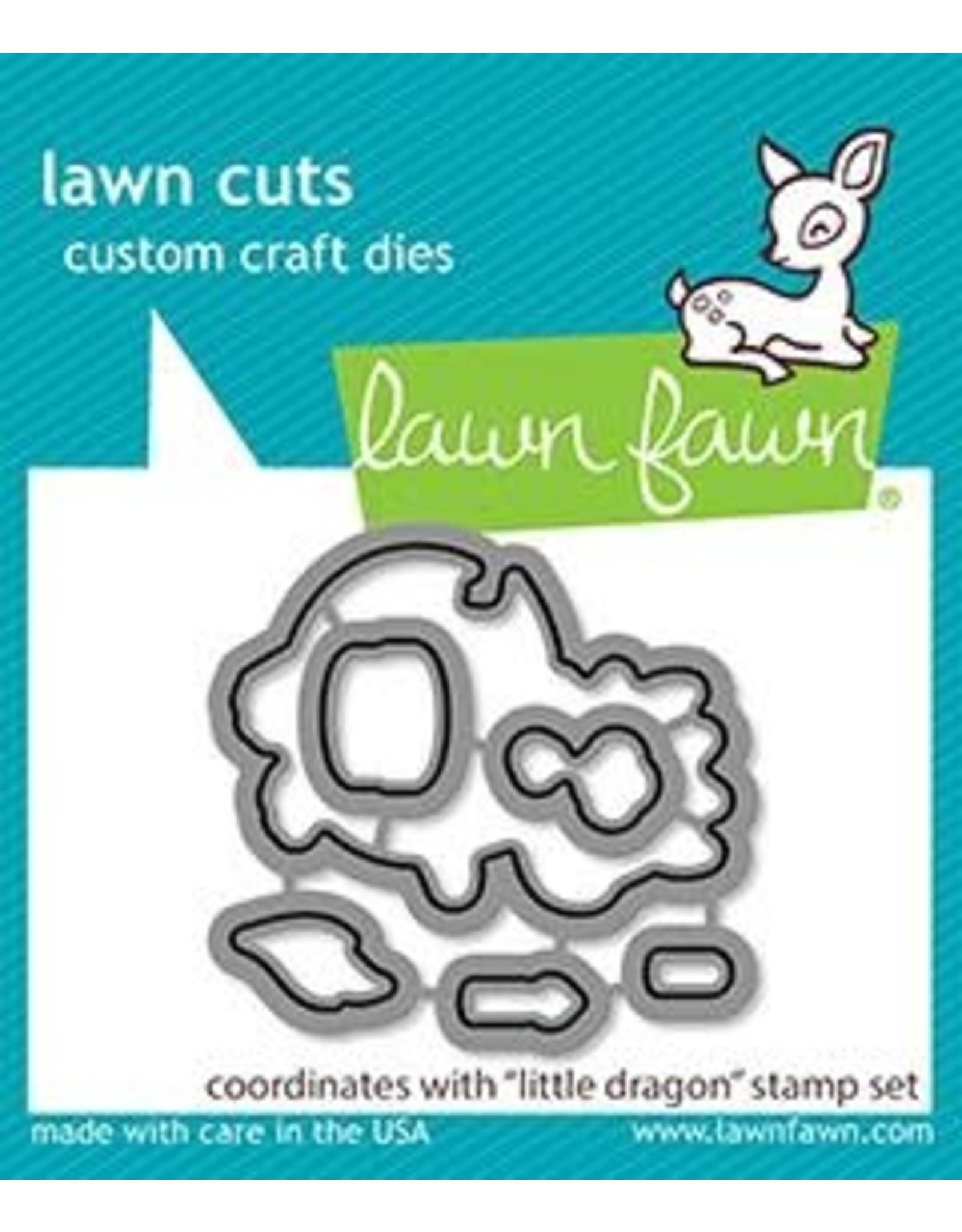 Lawn Fawn Little Dragon Lawn Cut Dies