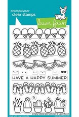 Lawn Fawn Simply Celebrate Summer Clear Stamp Set