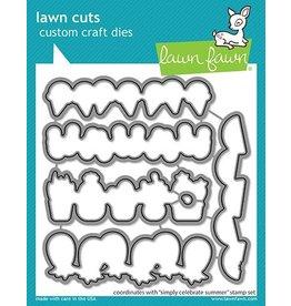 Lawn Fawn Simply Celebrate Summer Lawn Cuts Dies