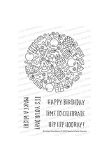 Newton's Nook Birthday Roundabout Clear Stamp Set