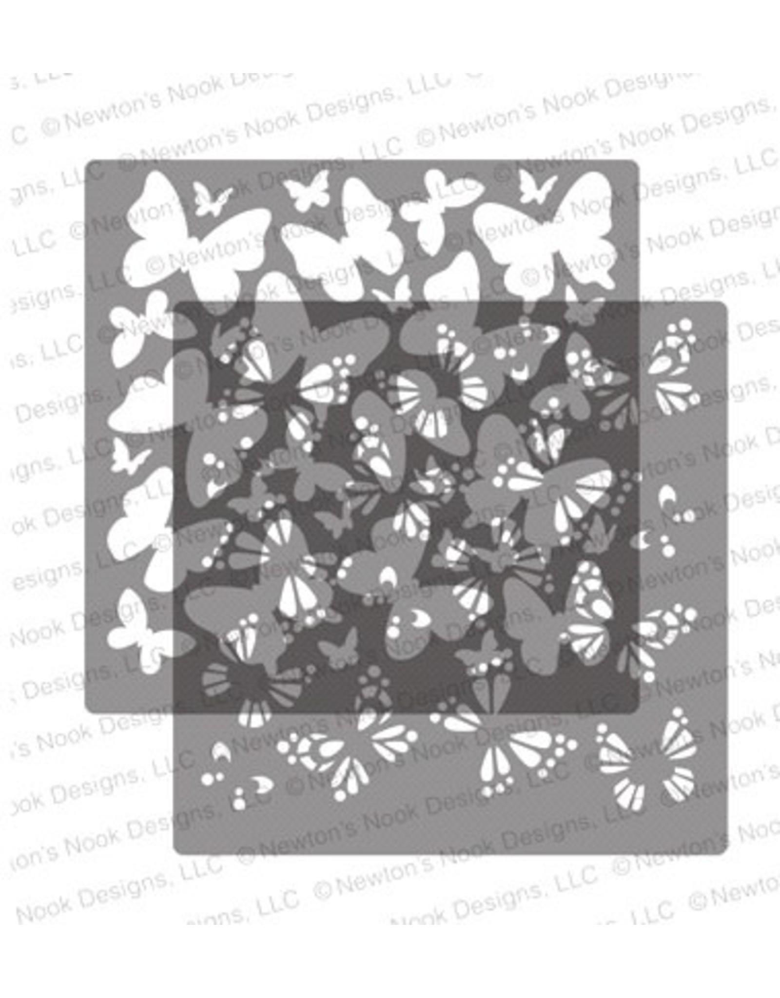 Newton's Nook Butterflies Stencil Set