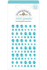 Doodlebug Design Inc. Doodlebug Adhesive Mini Jewels - Swimming Pool