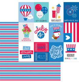 Doodlebug Design Inc. Land That I Love - Summer Streamers 12x12