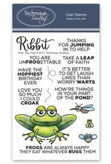 Technique Tuesday Felix the Frog Clear Stamp Set