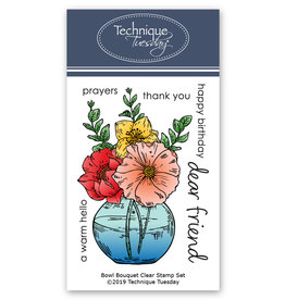 Technique Tuesday Bowl Bouquet (GS) Clear Stamp Set