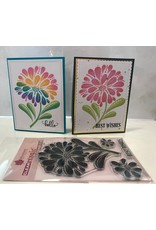 Woodware Bold Blooms - Helen Clear Stamp Set (30%)