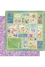 Graphic 45 Fairie Wings Collection - Butterfly Whimsy 12x12