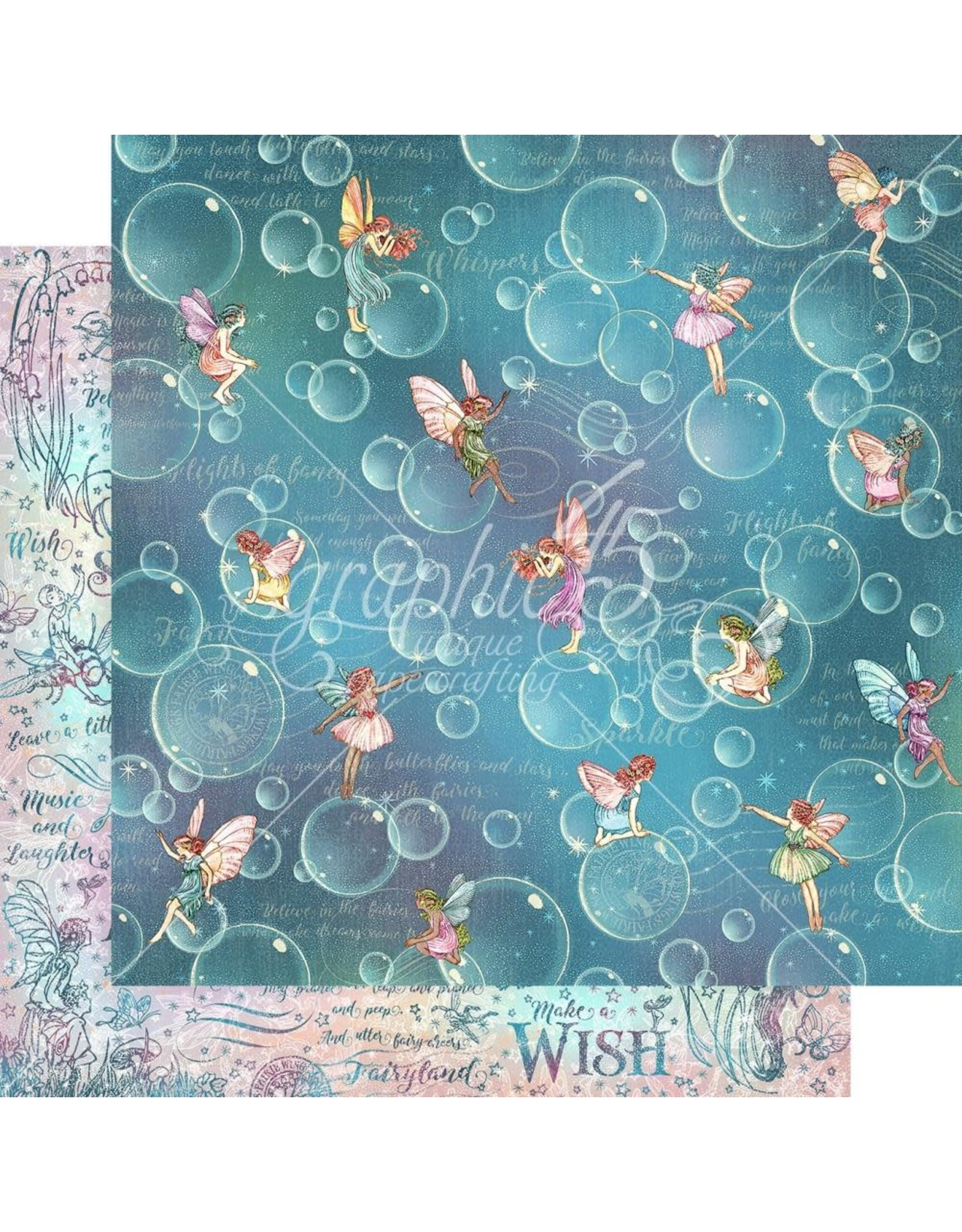 Graphic 45 Fairie Wings Collection - Blowing Bubbles