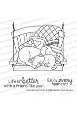 Newton's Nook Porch Swing Friends Clear Stamp Set