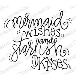 Impression Obsession Starfish Kisses Cling Stamp