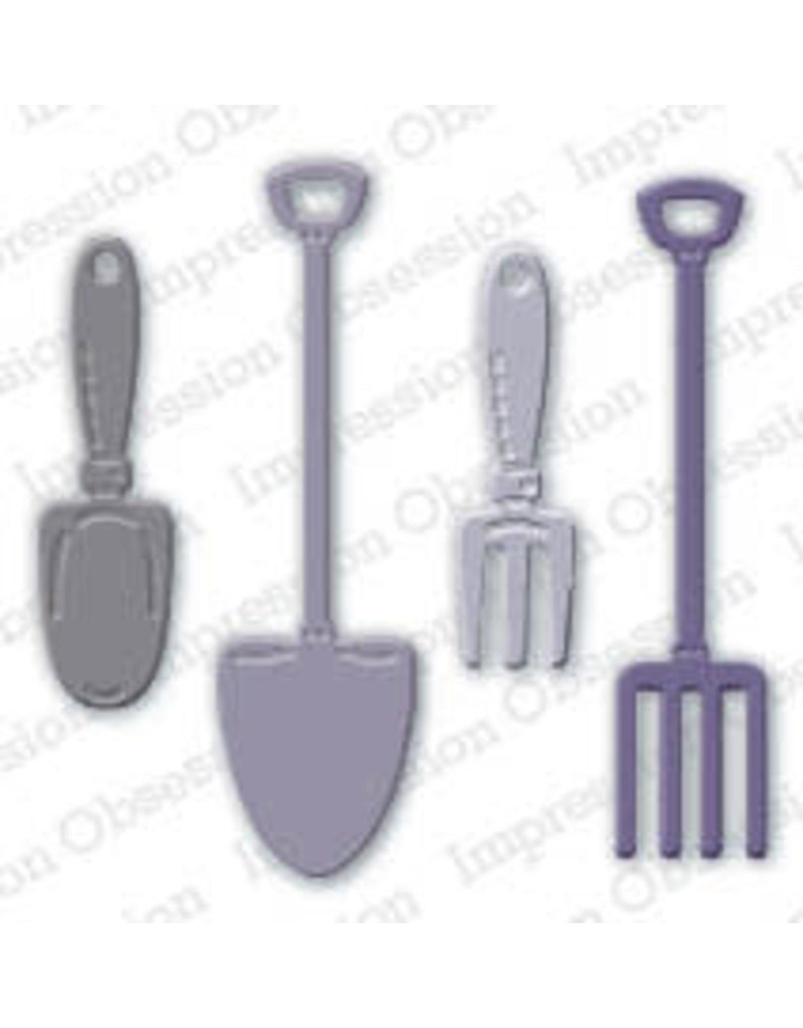 Impression Obsession Garden Tools Dies (IO)