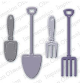 Impression Obsession Garden Tools Dies (IO)