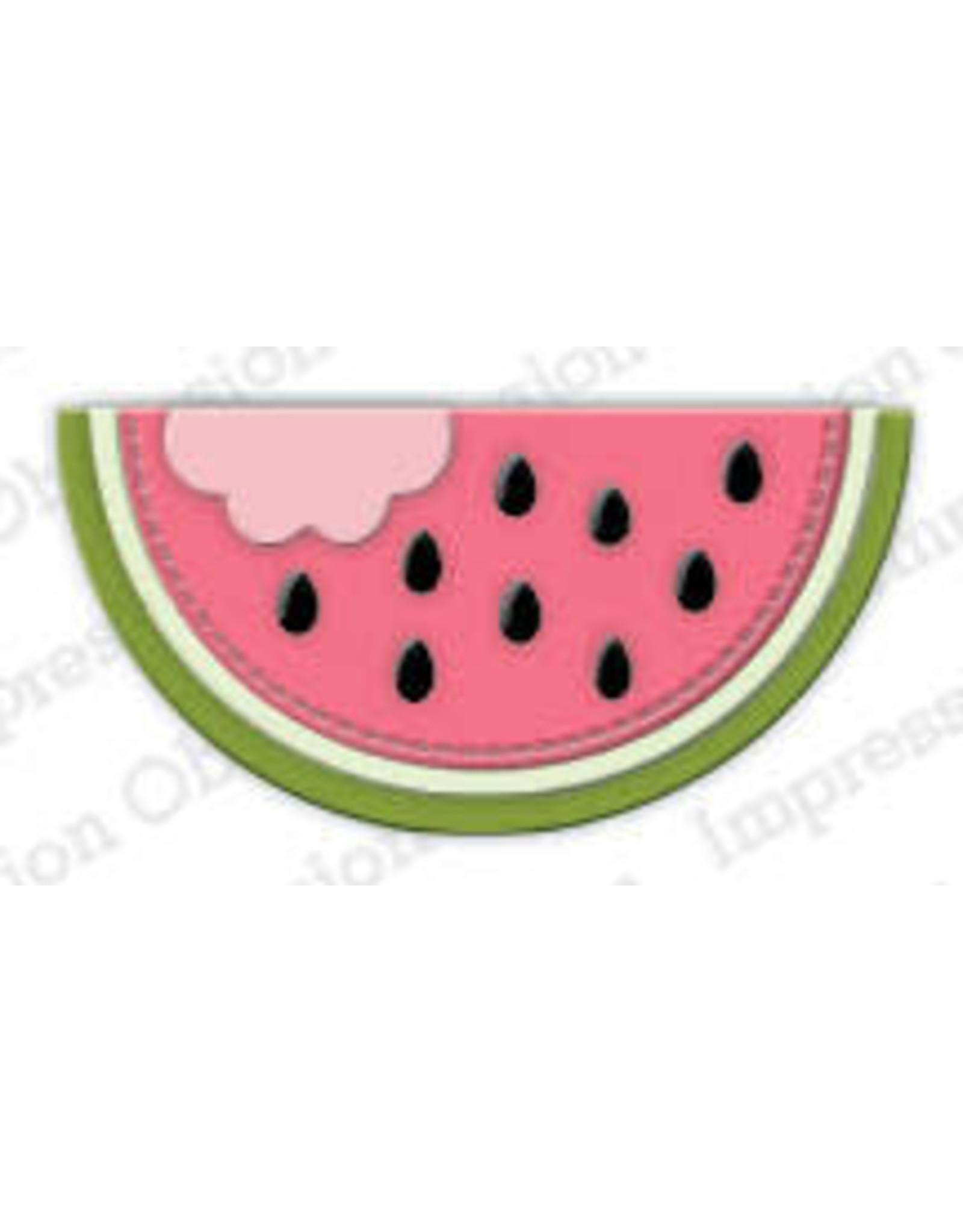 Impression Obsession Melon Slice Die (IO)