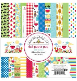 Doodlebug Design Inc. Bar-B-Cute 6x6 Paper Pad