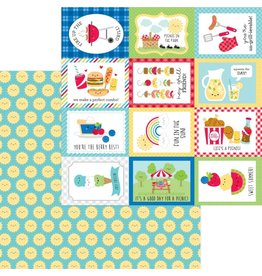 Doodlebug Design Inc. Bar-B-Cute Collection - Summer Sun 12x12