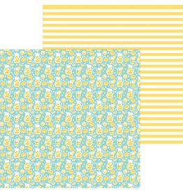 Doodlebug Design Inc. Bar-B-Cute Collection - Fresh Lemonade 12x12
