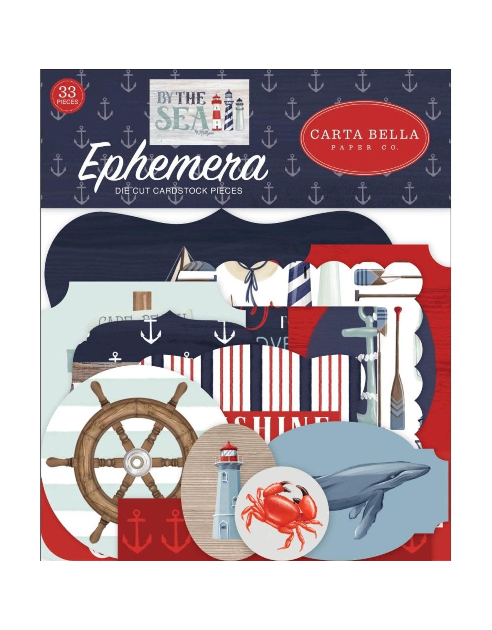 Carta Bella Paper Company, LLC By the Sea Ephemera
