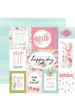 Carta Bella Paper Company, LLC Flora No. 3 Collection - Bright Journaling Cards 12x12