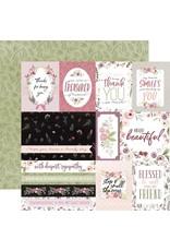 Carta Bella Paper Company, LLC Flora No. 3 Collection - Elegant Journaling Cards 12x12