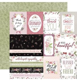 Carta Bella Paper Company, LLC Flora No. 3 Collection - Elegant Journaling Cards 12x12
