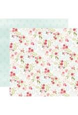 Carta Bella Paper Company, LLC Flora No. 3 Collection - Subtle Small Floral 12x12