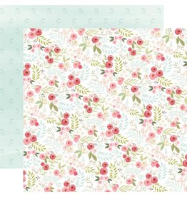 Carta Bella Paper Company, LLC Flora No. 3 Collection - Subtle Small Floral 12x12