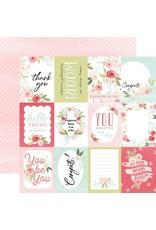 Carta Bella Paper Company, LLC Flora No. 3 Collecttion - Subtle Journaling Cards 12x12