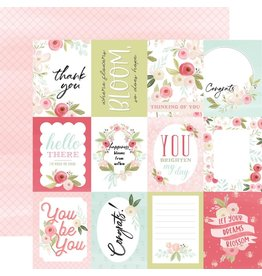 Carta Bella Paper Company, LLC Flora No. 3 Collecttion - Subtle Journaling Cards 12x12