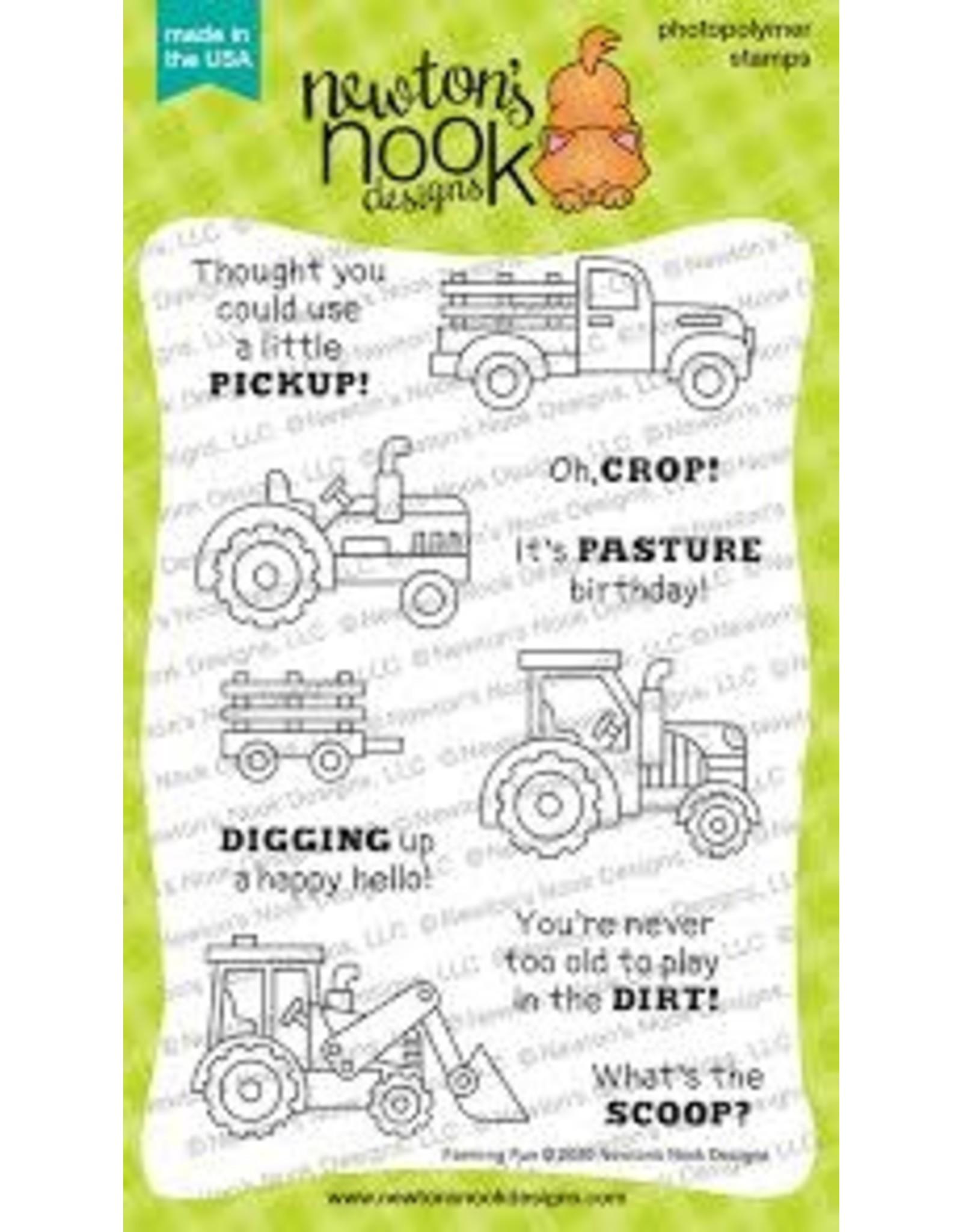 Newton's Nook Farming Fun Clear Stamp Set