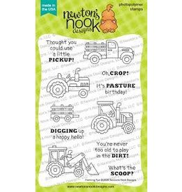 Newton's Nook Farming Fun Clear Stamp Set