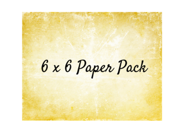 6 x 6 Paper Pack