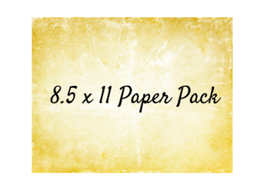 8.5 x 11 Paper Pack