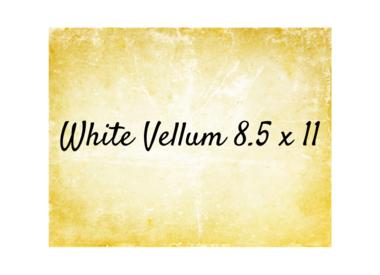 White 8.5x11