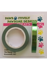 Paws-Itively Pawsome Designs Metallic Tape - Grass Green Foil